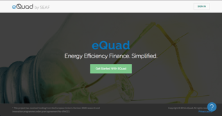 Landing page of SEAF or Equadcapital